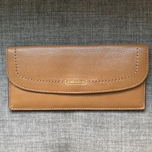 🆕 Coach Slim Leather Wallet